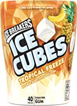Ice Breakers Ice Cubes Sugar Free Tropical Gum, 40 Count