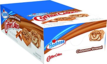 Hostess Coffee Cakes, Cinnamon Streusel, 2.89 Ounce, 8 Count