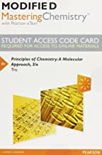 Modified Mastering Chemistry with Pearson eText -- Standalone Access Card -- for Principles of Chemistry: A Molecular Approach (3rd Edition)