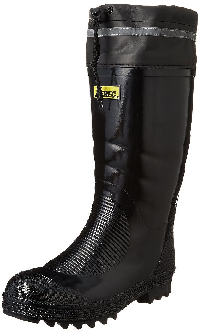 哀れな家族契約した[ジーベック] 安全靴 85702 保温 セーフティ防寒長靴 メンズ クロ 27.0 cm