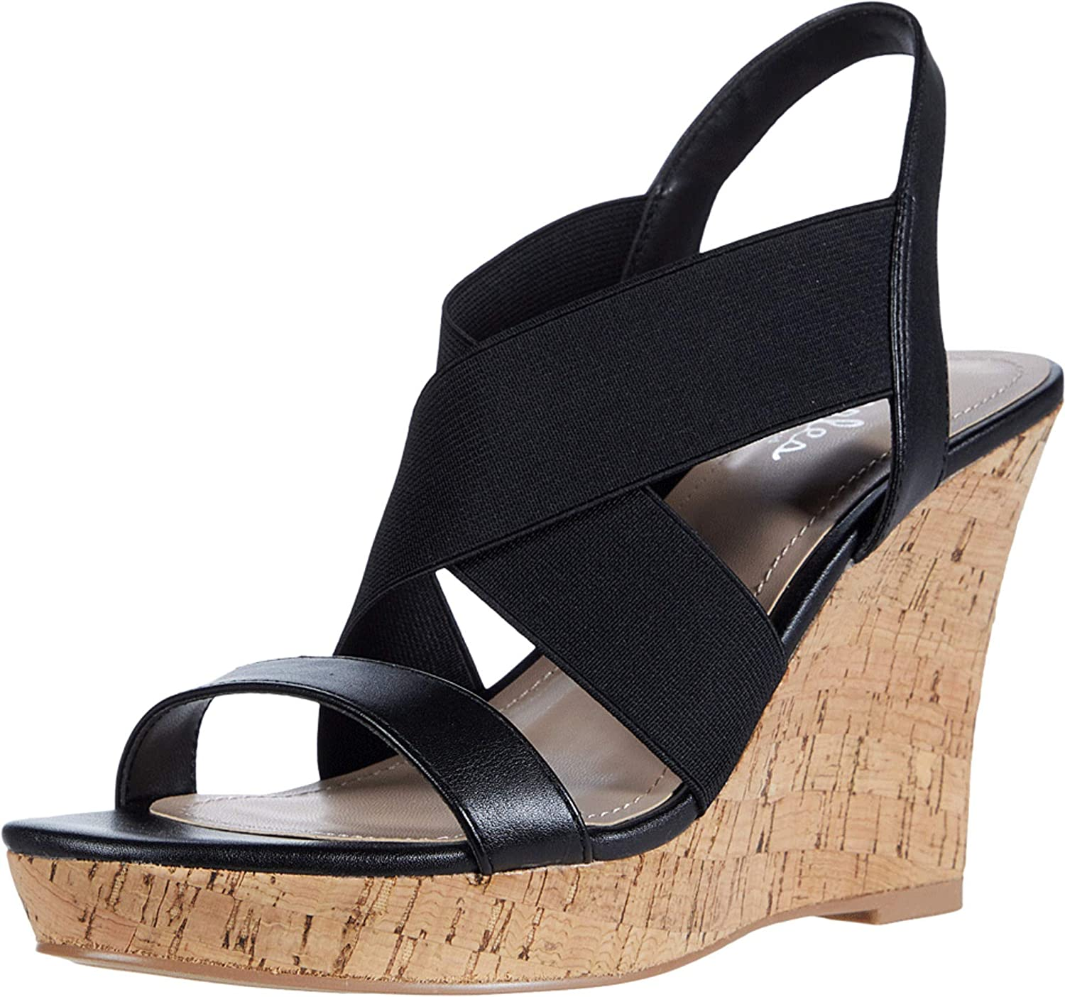 Charles by Gorgeous David Industry No. 1 Women's Platform Sandal Wedge