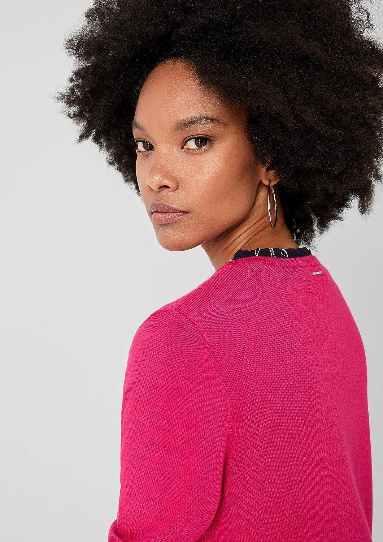 s.Oliver Damen Strickjacke Rosa (Pink 4436)