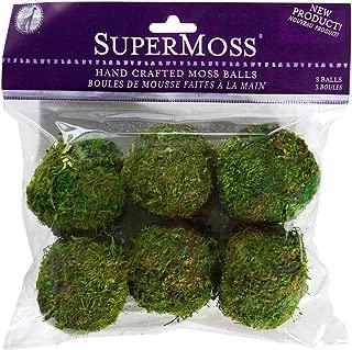 SuperMoss (21807) Moss Balls, Fresh Green, 2