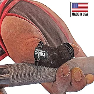 JerkFit Nubs Thumb Sleeves Protector for Hook Grip, Olympic Weightlifting, Powerlifting, OLY & Gymnastics-Relieve Painful Calluses&Blisters Replace Tape(Pair)