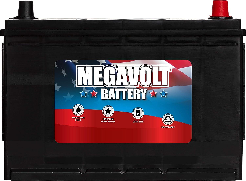 Megavolt Lead Acid Dallas Mall Flooded Car Rapid rise Battery BCI AMP H 27R 80 12V 27F