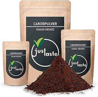 100 g Carobpulver   Grössenauswahl   Kakaoersatz   Carob Pulver   justaste Qualität 100 g
