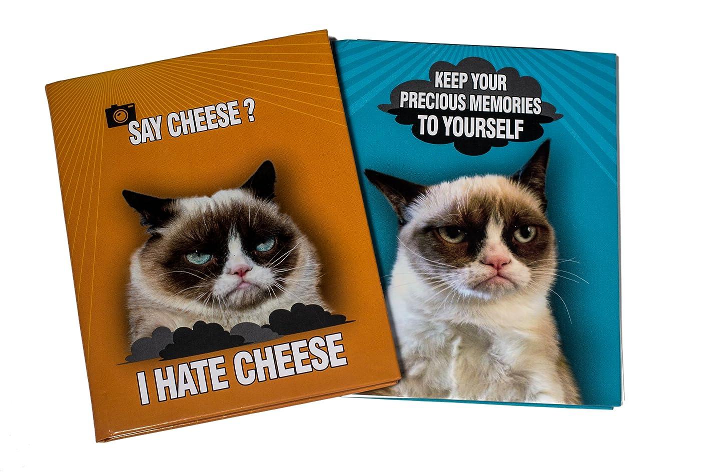 Ultra Pro Grumpy Cat 4 by 6-Inch Photo Album, Mini, 2-Pack
