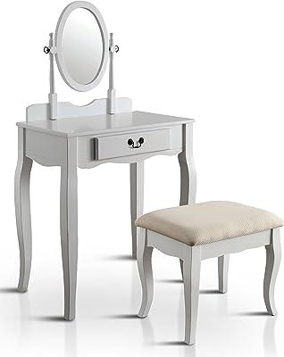 Amazon Com Bonnlo Princess Girls Vanity Table Set Makeup