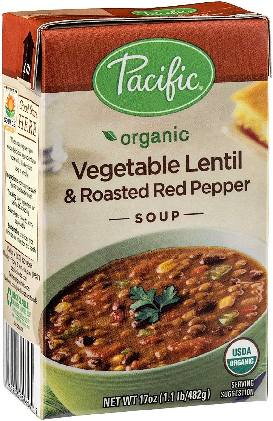 Pacific Foods Soup Rte Pppr Vgtb Now free Max 54% OFF shipping Rstd Lentil