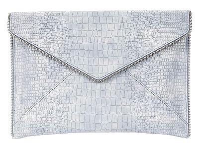 Rebecca Minkoff Leo Clutch (Light Periwinkle) Clutch Handbags