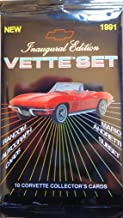 Chevy Vette Set Trading Cards 1991