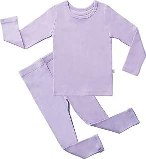 Baby Boys Girls Pajama Set Kids Toddler Snug fit Basic Cotton Sleepwear for Halloween Costume and Ordinary Day