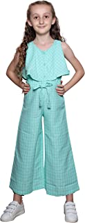 Little Kangaroos Girls Jumpsuit,Mint-ROGS2019617B