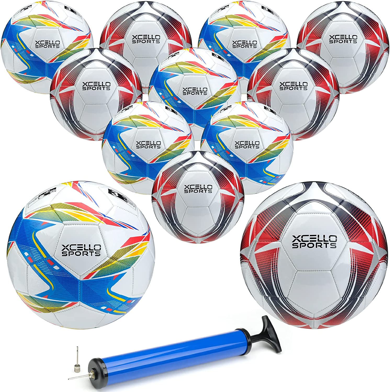 Xcello Sports Omaha Mall Soccer Balls - Size 3 4 or Graphi Two Unique Louisville-Jefferson County Mall 5