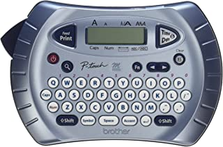 Brother P-touch Label Maker, Personal Handheld Labeler, PT70BM, Prints 1 Font in 6 Sizes & 9 Type Styles, Two-Line Printin...