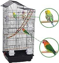 Yaheetech Jaula para Pájaros Jaula Grande con Columpio