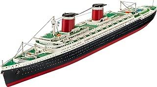Revell Maqueta de Barco 1: 600 – SS United States en Escala 1: Niveles 600, 3, réplica exacta con Muchos Detalles, Cruz de Barco, 05146