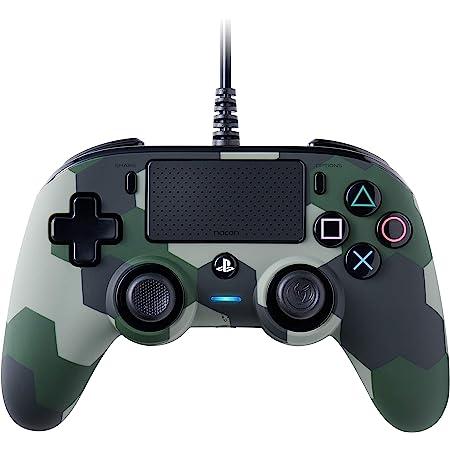 BigBen Interactive Nacon Compact Controller Camogreen con Cavo - Licenza Ufficiale Sony PlayStation - PlayStation 4