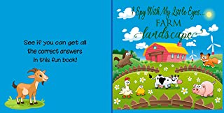 I Spy With My Little Eyes...Farm Landscape: A Fun Guessing Game for Kids Aged 2-5| Alphabet Picture Book for Toddlers, Pre...