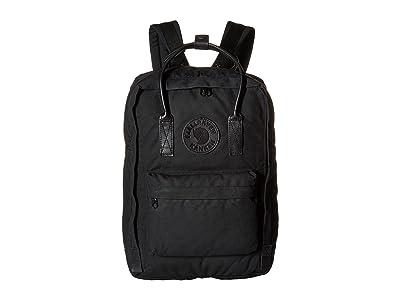 Fjallraven Kanken No. 2 Laptop 15 (Black) Bags