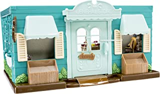 Li'l Woodzeez Animal Figurine Playset and Accessories - Honeysuckle Hollow General Store - 89 Pieces