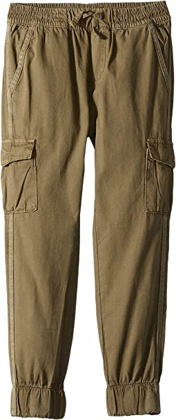 Cargo Canvas Jogger Pants (Little Kids/Big Kids)