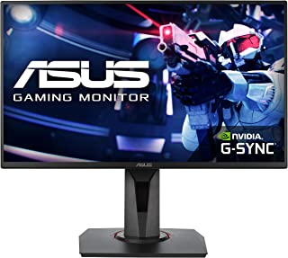 "ASUS VG258QR 24.5"" Full HD Gaming Monitor, 0.5ms*, 165Hz (above 144Hz), G-SYNC Compatible, Adaptive Sync, Black"