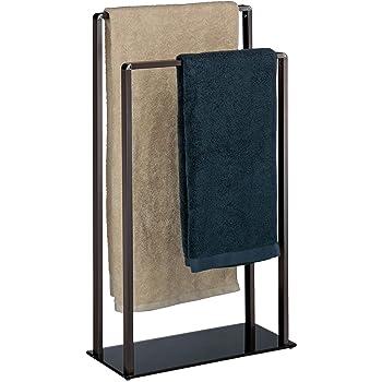 Handtuchständer Badetuchhalter 2-Armig Handtuchhalter Badständer Freistehend