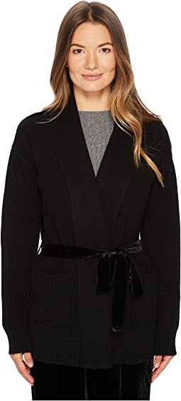 Tracy Cardigan with Velvet Back