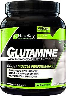 NutraKey L-Glutamine 1000 Gram