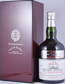 Mortlach 1989 30 Years Oloroso Sherry Cask Hunter Laing Old & Rare Heritage Platinum Selection Single Cask Bottling Speyside Single Malt Scotch Whisky Cask Strength 48,5% Vol. - eine von 317 Flaschen!