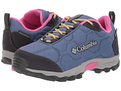 Columbia Kids Firecamptm Sledder 3 Waterproof (Little Kid/Big Kid) (Bluebell/Pink Ice) Girls Shoes