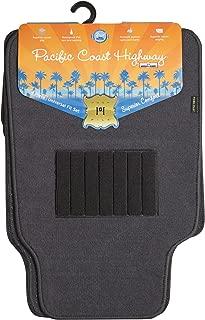 Highland 4560500 Pacific Coast Highway Luxury Carpet Floor Mat, Gray - 4 Piece