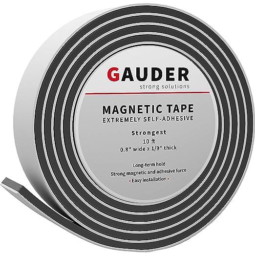 678 opinioni per GAUDER Nastro Magnetico Estremamente Autoadesivo | Strisce Magnetiche | Nastro