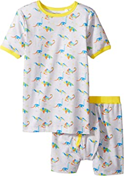 Trimfit - Organic Cotton Short Sleeve Dreamwear Pajama Set (Little Kids/Big Kids)