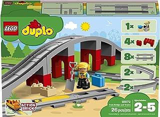 LEGO DUPLO Train Bridge and Tracks 10872 Building Blocks