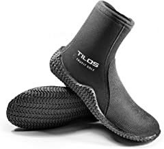 Tilos TruFit Dive Boots, First Truly Ergonomic Scuba Booties, Available in 3mm Short, 3mm Titanium, 5mm Titanium, 5mm Thermowall, 7mm Titanium