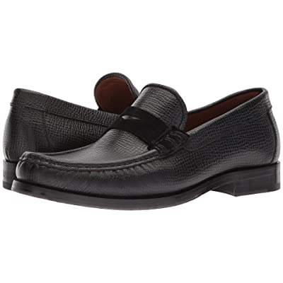 Aquatalia Sebastian (Black Tumbled Full Grain) Men
