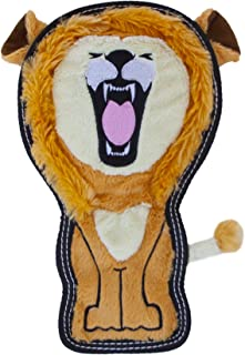 Outward Hound Tough Seamz Stuffingless Durable Plush Toy for Dogs