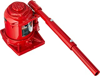 Big Red T92007A Torin Low Profile Hydraulic Stubby Bottle Jack, 20 Ton (40,000 lb) Capacity