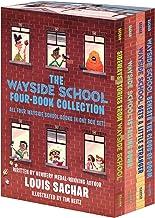 The Wayside School 4-Book Box Set: Sideways Stories from Wayside School, Wayside School Is Falling Down, Wayside School Ge...