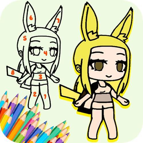 Princess Gl Arts Coloring Book