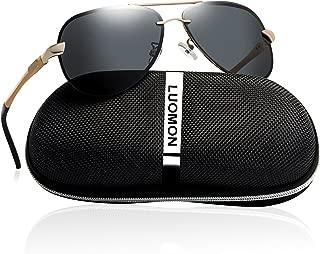 LM007 Mens Polarized Sunglasses for men Pilot Glasses