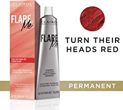 Clairol Professional Flare Me Hair Color, Turn Their Heads Red, 2 Ounce