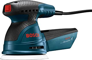 Bosch ROS20VSC Palm Sander – 2.5 Amp 5 in. Corded Variable Speed Random Orbital..