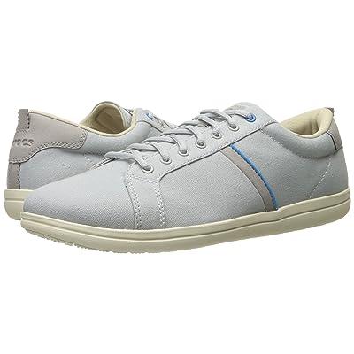 Crocs Torino Lace-Up (Light Grey/Stucco) Men