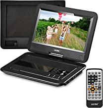 "UEME Portable DVD Player with Car Headrest Mount Case, 10.1"" HD Swivel Screen,.."