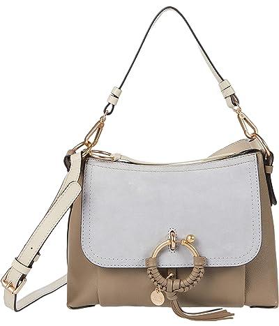 See by Chloe Joan Small Hobo Leather (Motty Grey) Shoulder Handbags