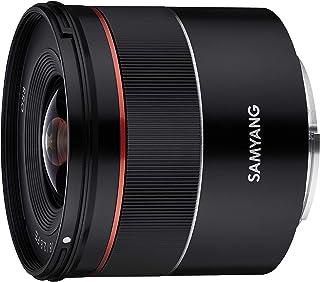 Samyang AF 18MM F2.8 FE SONY E - Objetivo de gran angular para cámaras réflex Sony Alpha (montura tipo E) con formato completo y sensor APS-C color negro