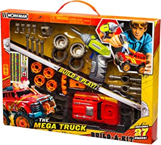 Lanard Workman Off Road Build-A-KIT Toy